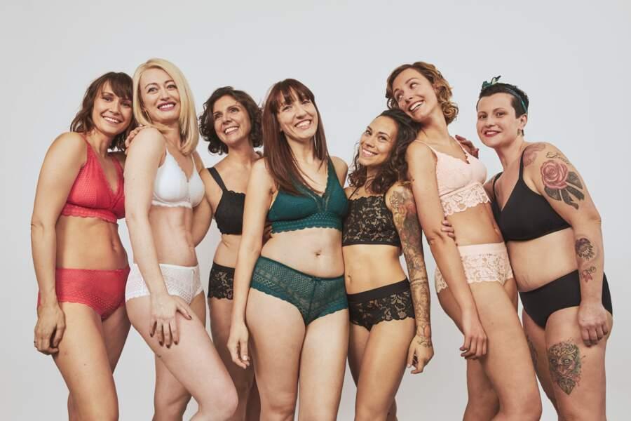 """Etam a lancé en juin 2020, """"YES!"""", sa première collection de lingerie post-mastectomie, inscrite dans le programme engagé WeCare !"""