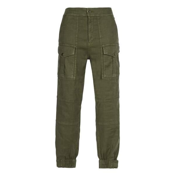 Pantalon militaire, 190€, The Kooples.