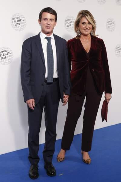 Manuel Valls et Susana Gallardo se sont mariés le 14 septembre 2019, à l'âge de 57 ans et 54 ans