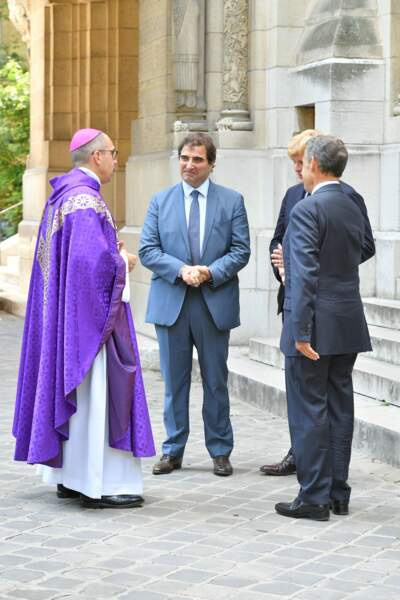 Nicolas Sarkozy était accompagné de Christian Jacob, président des Républicains