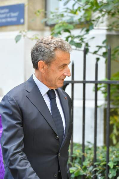 Nicolas Sarkozy s'est rendu aux obsèques de Pascal Clément à Paris ce 25 juin