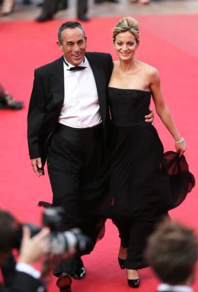 Thierry Ardisson et Audrey Crespo-Mara se sont mariés le 21 juin 2014, à l'âge de 65 ans et 37 ans