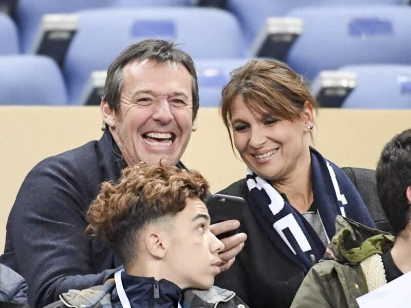Jean-Luc Reichmann et Nathalie Lecoultre très complices