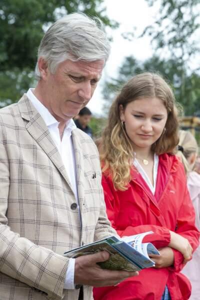 En Belgique, c'est la princesse Elisabeth, 18 ans, qui occupera le rôle à la mort de son père