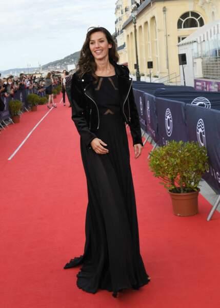Doria Tillier, lors de la 34ème édition du festival de Cabourg.