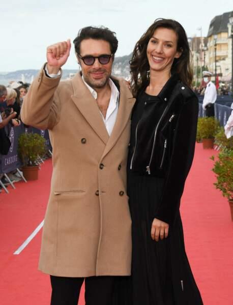 Nicolas Bedos et Doria Tillier étaient présents pour la 34ème édition du festival de Cabourg, le 29 juin 2020.