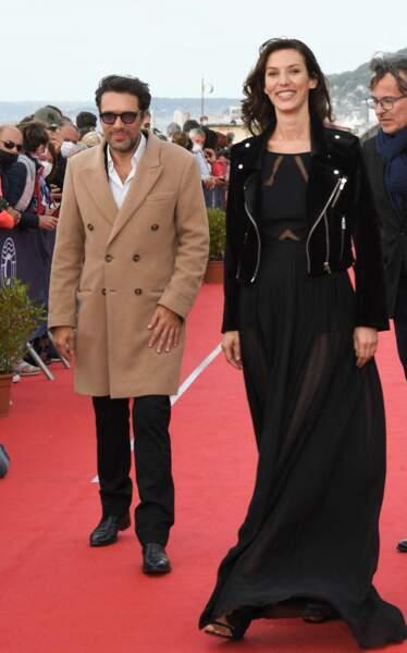 Nicolas Bedos et Doria Tillier à l'occasion du festival de Cabourg, le premier organisé sous l'ère post-Covid.