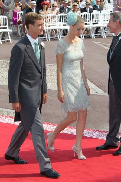 Pierre Casiraghi, fils de la princesse Caroline, et sa compagne Beatrice Borromeo