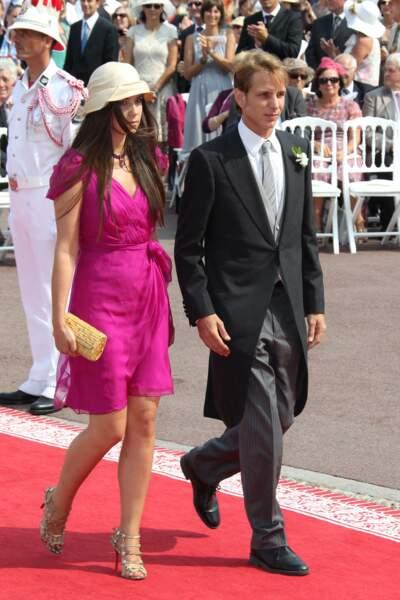 Andrea Casiraghi, fils de la princesse Caroline, et sa compagne Tatiana Santo Domingo