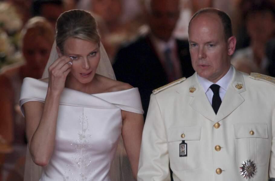 Le mariage du prince Albert et de Charlene, un grand moment d'émotion
