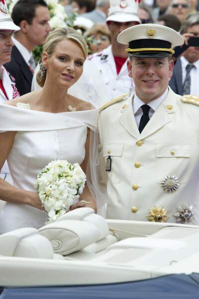 Le prince Albert et Charlene au comble du bonheur