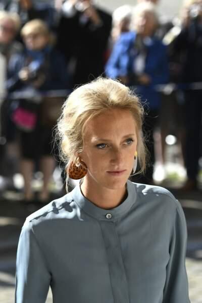 Maria Laura de Belgique : à 31 ans, la nièce du roi Philippe serait toujours un coeur à prendre. Toutefois, on l'a récemment vue à un mariage avec un cavalier