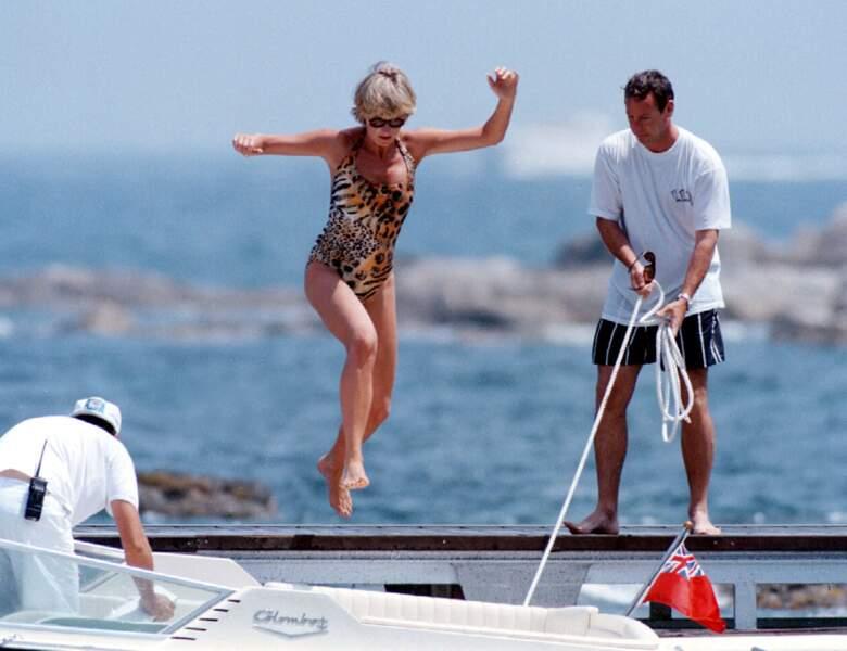 Direction Saint-Tropez pour Lady Diana