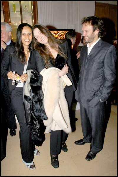 Carla Bruni et Vincent Perez gardent de très bons liens