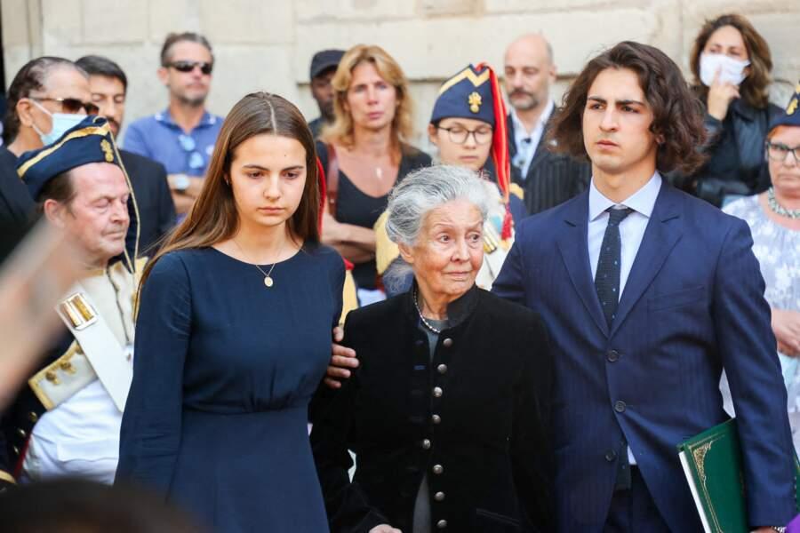 Elvire de Clermont-Tonnerre et Anne Moranvillé, la mère de Hermine de Clermont-Tonnerre