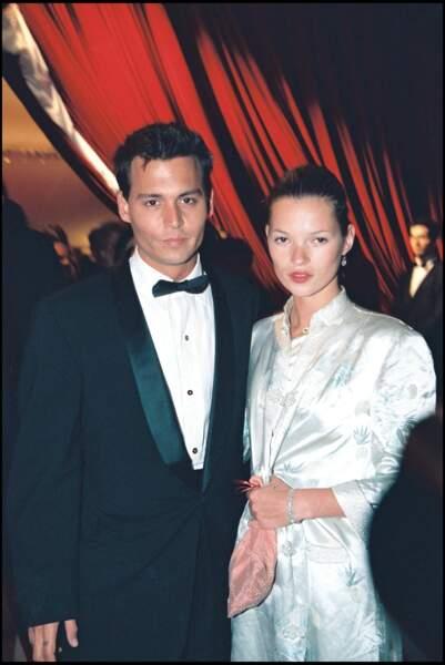 Johnny Depp et Kate Moss