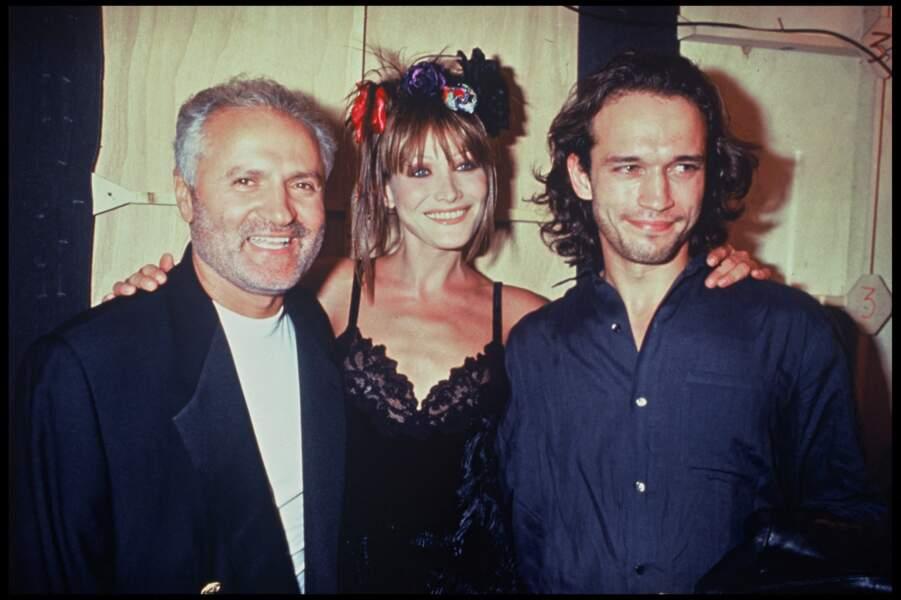 Vincent Perez et Carla Bruni amis avec le gratin