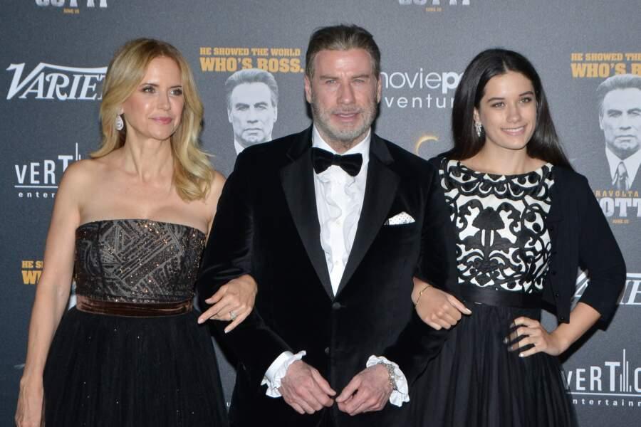 John Travolta, Kelly Preston et Ella