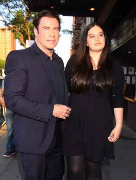 John Travolta et Ella