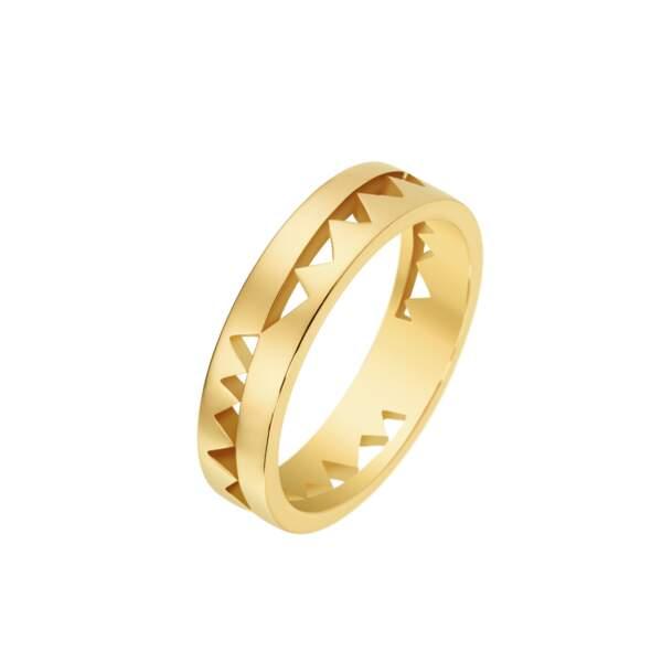 Bague en or jaune, 1480€, Akillis