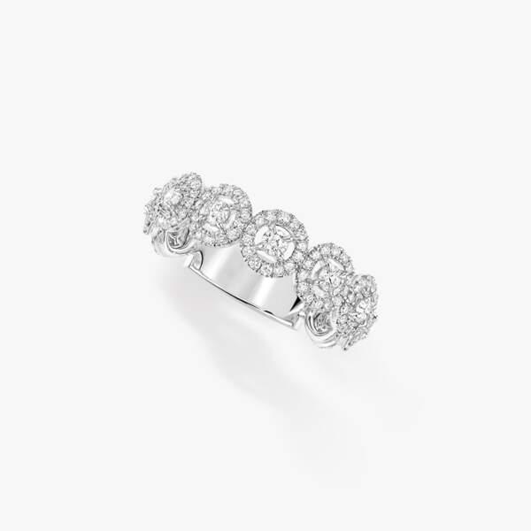 Bague en or blanc et diamants, 3900€, Messika