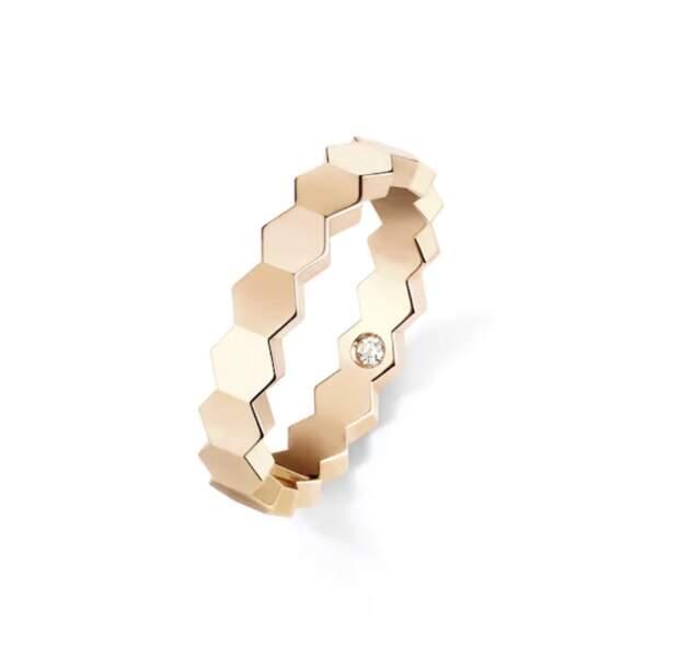 Bague en or jaune et diamants, 1670€, Chaumet