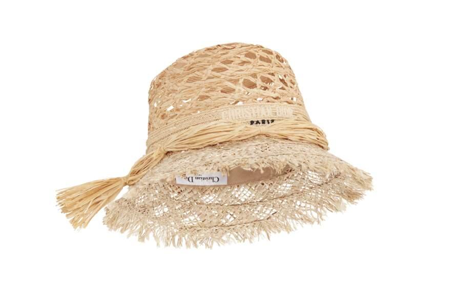 Chapeau, 990 € Dior.