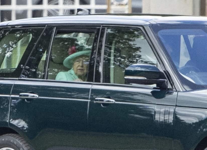 Elizabeth II après les festivités
