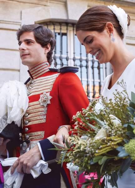 Fernando Fitz-James Stuart et Sofia Palazuelo :