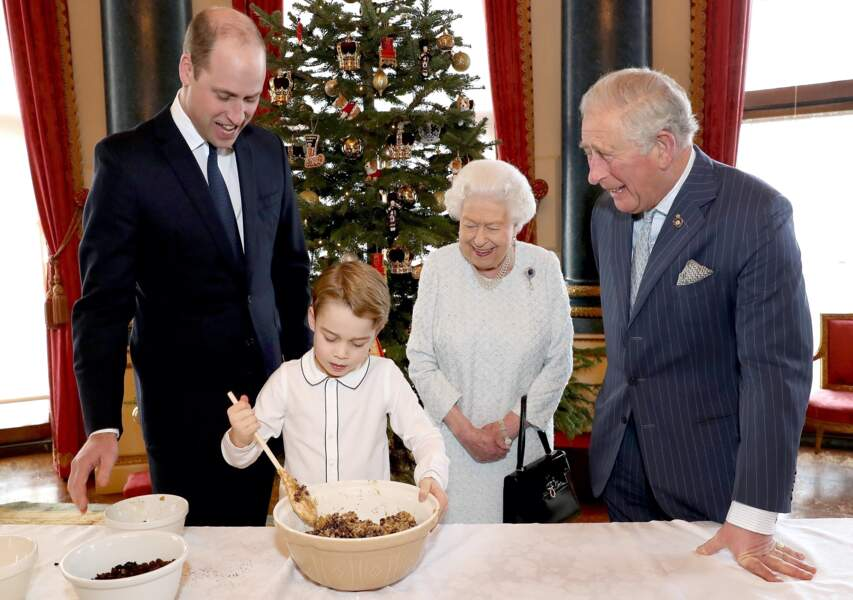 Le prince George est un vrai petit cuisto