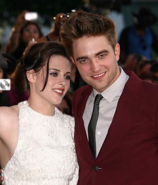 En 2012, Kristen Stewart file depuis trois ans le parfait amour avec Robert Pattinson, son partenaire dans Twilight.
