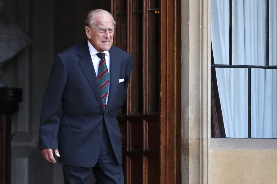 Ces clichés du prince Philip, surnommé l'homme de fer ont ravi les inconditionnels de la Couronne britannique