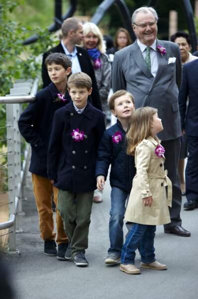 Le prince Felix au jubilé du prince Henrik en 2012
