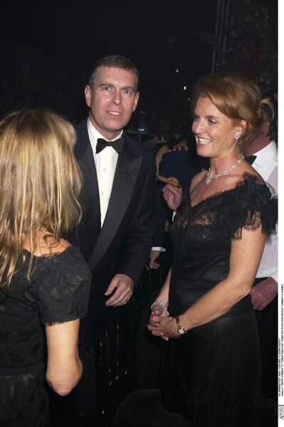 Le prince Andrew et Sarah Ferguson, à Londres, en septembre 2002.