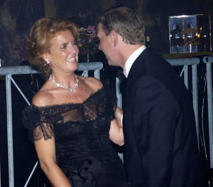 Sarah Ferguson et le prince Andrew, en 2002.