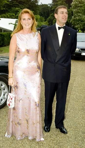 Sarah Ferguson et le prince Andrew, en juin 2000.
