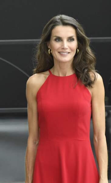 la reine Letizia d'Espagne, le 3 juillet 2020.