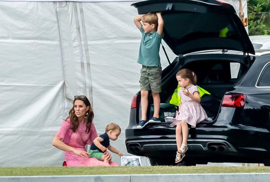 Lors de ce match de bienfaisance, elles ne se sont pas adressées la parole selon des sources proches de la famille royale.