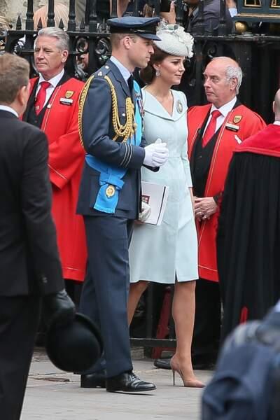 Comme d'habitude, Kate Middleton et Meghan Markle semblaient en froid malgré les apparences.