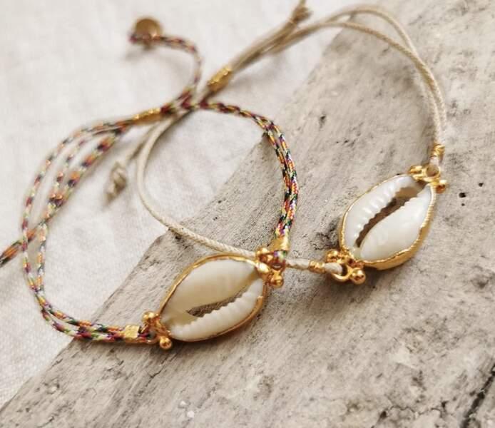 Bracelet Bambou, 65 €, Elise Tsikis