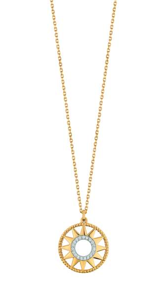 Collier or jaune Thallia, 29€, Histoire d'Or