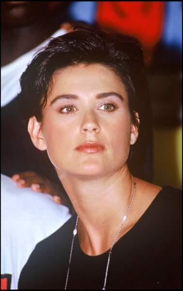 Demi Moore en 1991