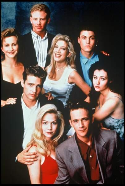 """Le casting de la mythique série """"Beverly Hills 90210"""""""