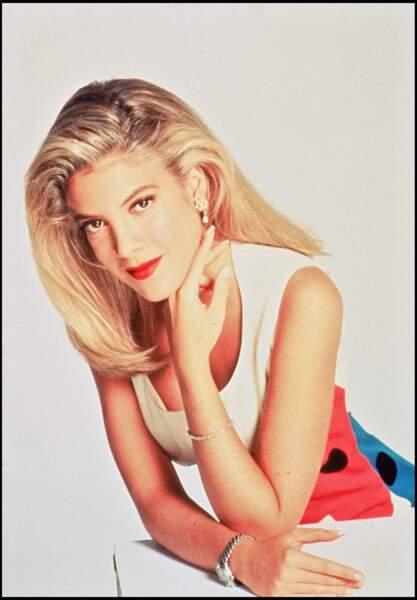 Tori Spelling en 1993
