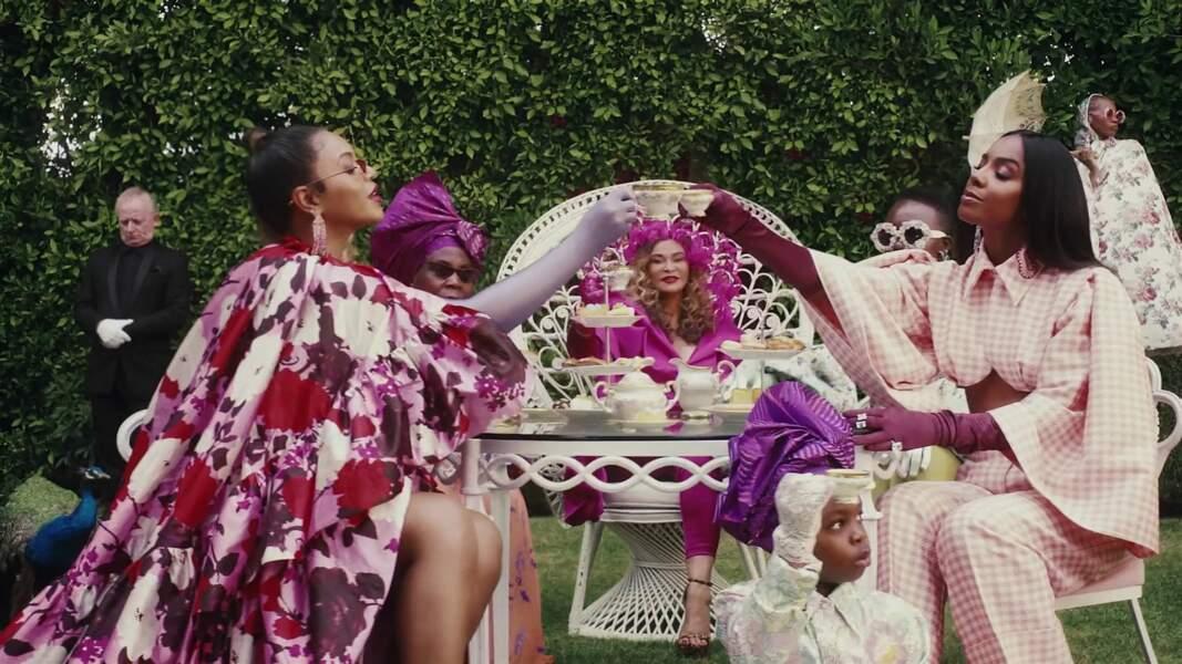 """Blue Ivy apparaît au côté de Jay-Z, Naomi Campbell ou encore Lupita Nyong dans le film visuel """"Black is King"""" de Beyoncé"""