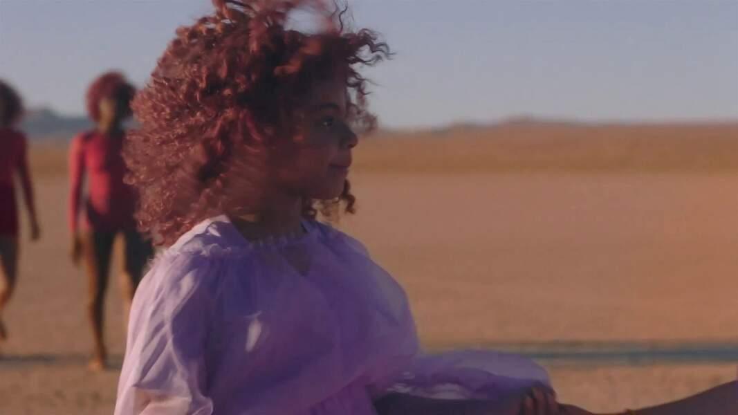 Blue Ivy, la fille de Beyoncé, était déjà apparue dans plusieurs clips de sa mère
