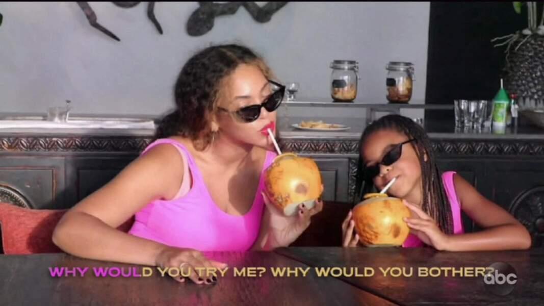 Dans le documentaire Making the Gift, Blue Ivy faisait déjà le show au côté de Beyoncé