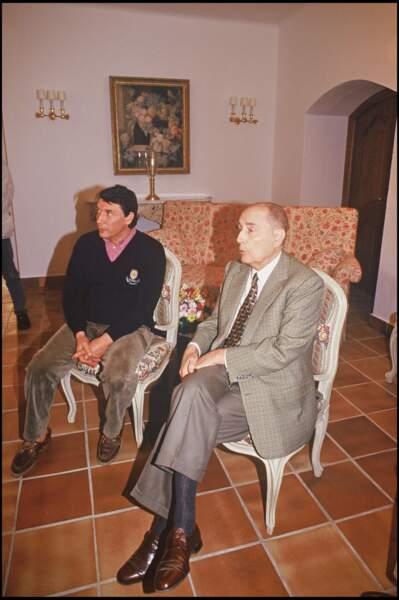François Mitterrand, lui, n'hésitait pas à convier son fils Albert au Fort de Brégançon