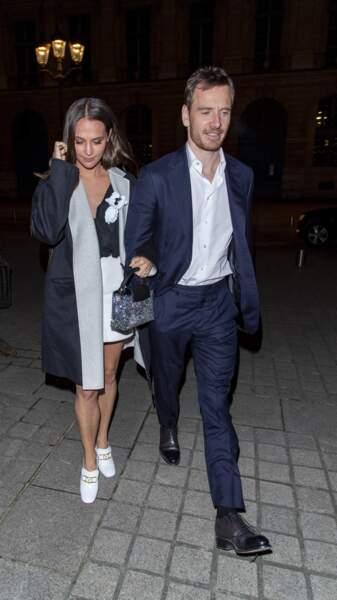 Alicia Vikander et Michael Fassbender se sont mariés en octobre 2017 à Ibiza, après trois ans de relation.