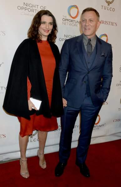 Rachel Weisz et Daniel Craig se sont mariés en toute discrétion en 2011, après six mois de relation.